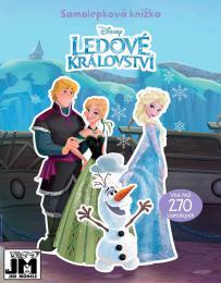 JIRI MODELS Knížka samolepková Frozen 2 (Ledové Království) 270 samolepek