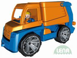 LENA Truxx Auto popeláø 29cm vozítko na písek s panáèkem øidiè plast