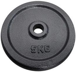 ACRA Kotouè náhradní litinový 20cm 1x 5kg závaží na èinky 30mm