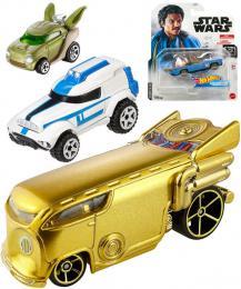 MATTEL HOT WHEELS Auto anglièák Star Wars rùzné druhy kov