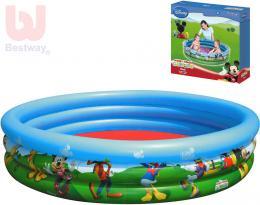 BESTWAY Bazén dìtský kruhový nafukovací 122x25cm Mickey Mouse