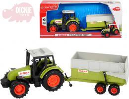 DICKIE Traktor Class 36cm set s pøívìsem volný chod plast