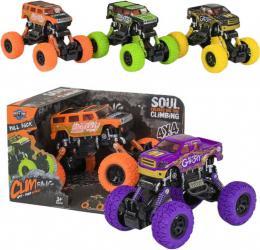 Auto kaskadérské Grafity 1:36 monster truck na zpìtný chod 2 barvy plast
