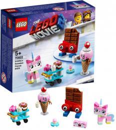 LEGO MOVIE PØÍBÌH 2: Nejroztomilejší pøátelé Unikitty! 70822 STAVEBNICE
