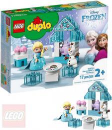LEGO DUPLO FROZEN Èajový dýchánek Elsy a Olafa 10920 STAVEBNICE