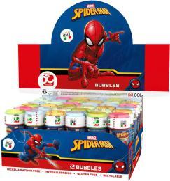 Bublifuk Spiderman 60ml dìtský bublifukovaè s hrou ve víèku