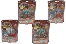EP Line figurka plastová Gormiti Mythos set 4ks s doplòky rùzné druhy