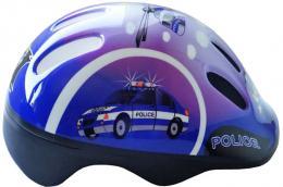 BROTHER Cyklo helma cyklistická dìtská vel.S policie na kolo CSH062