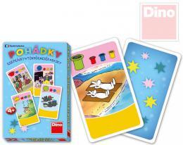 DINO Hra karetní Kvarteto Pohádky Veèerníèek 32 karet v krabièce