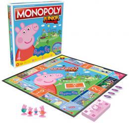 HASBRO Hra MONOPOLY Junior prasátko Peppa Pig *SPOLEÈENSKÉ HRY*