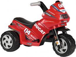 PEG PÉREGO Baby motorka DUCATI MINI EVO 6V tøíkolka Elektrické vozítko