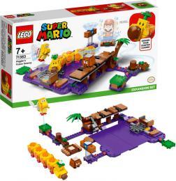 LEGO SUPER MARIO Wiggler a jedovatá bažina 71383 STAVEBNICE