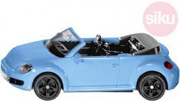 SIKU Auto modré brouk VW The Beetle Cabrio model kov 1505