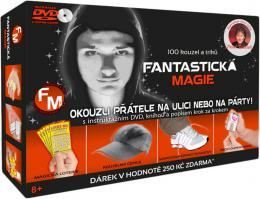Fantastická magie kouzelnická sada 100 kouzel a trikù s instruktážním CD