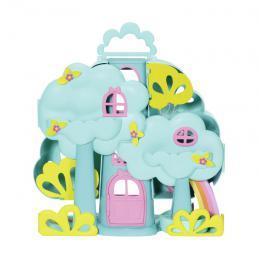 ZAPF CREATION Baby Born Surprise domeèek stromový set s miminkem a doplòky