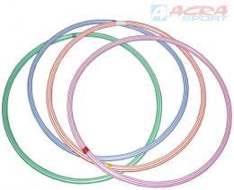 ACRA Obruè gymnastická hula hop 60cm dìtský fitness kruh 4 barvy