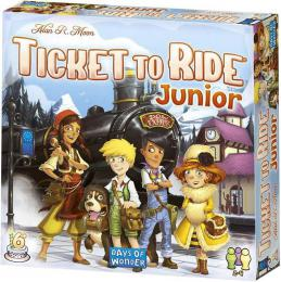 ADC HRA Ticket to Ride Junior *SPOLEÈENSKÉ HRY*
