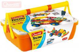 QUERCETTI Tecno Toolbox set stavebnice šroubovací s nástroji a doplòky plast