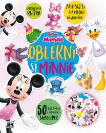 JIRI MODELS Oblékni si Minnie kreativní set se samolepkami Minnie Mouse