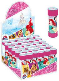 Bublifuk Disney Princezny 55ml dìtský bublifukovaè s kulièkovým labyrintem