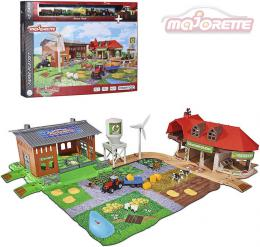 MAJORETTE Creatix Farma velká herní set s 5 vozidly a budovami s doplòky