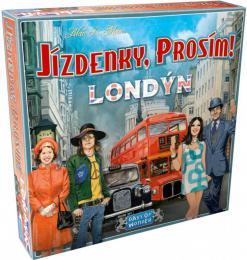 ADC Hra Jízdenky, prosím! Londýn *SPOLEÈENSKÉ HRY*