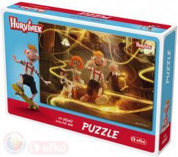 EFKO Puzzle Hurvínek II 60 dílkù 21x15cm skládaèka v krabici