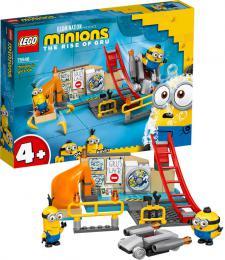 LEGO MINIONS Mimoni v Gruovì laboratoøi 75546 STAVEBNICE