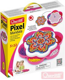 QUERCETTI Mozaika Pixel Mandala daisy set 1200 klobouèkù 5mm s pøedlohami