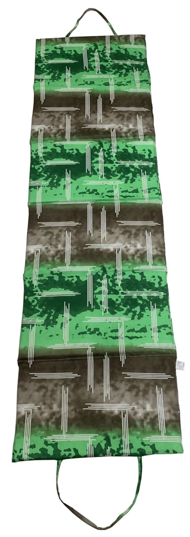 ACRA L01-ZE Lehátko plážové skládací velké zelené