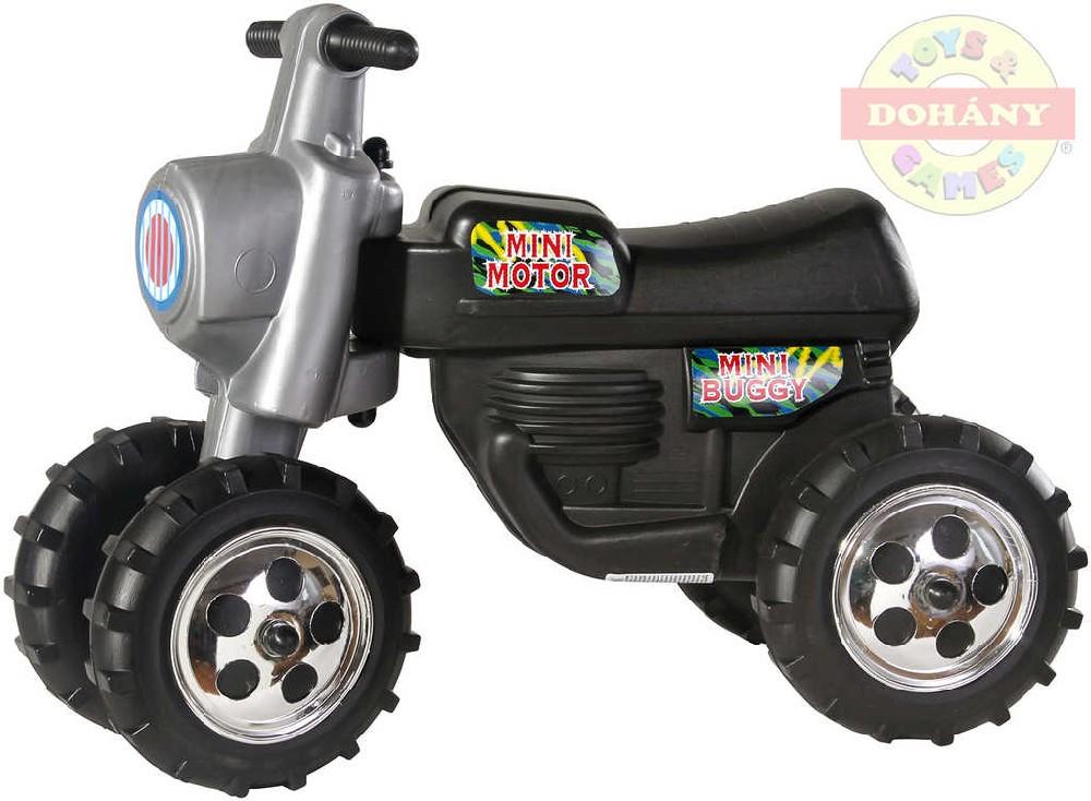MAD Odrážedlo dětské odstrkovadlo CROSS plastová motorka černá