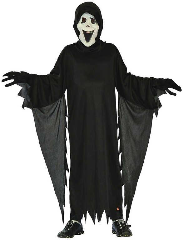 KARNEVAL Šaty démon vel.L (130-140 cm) 9-12 let KOSTÝM