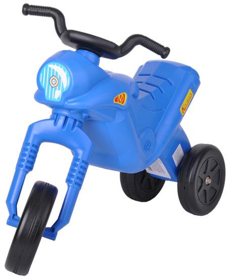 MAD Odrážedlo ENDURO Klasik dětské odstrkovadlo modrá motorka do 25kg