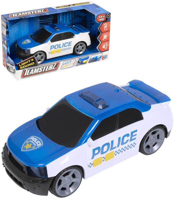 Teamsterz auto policejní 26cm osobní vůz na baterie Světlo Zvuk