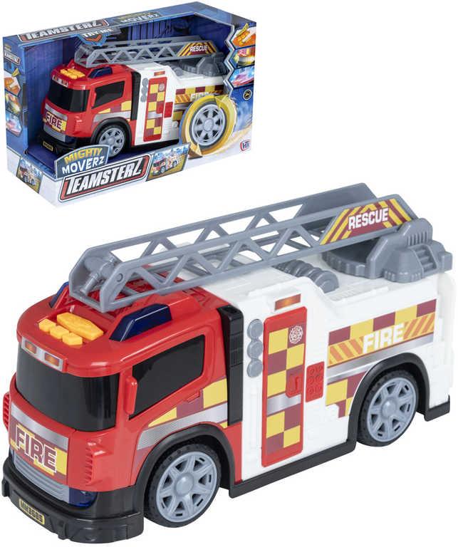 Teamsterz auto hasiči s žebříkem na baterie Světlo Zvuk plast