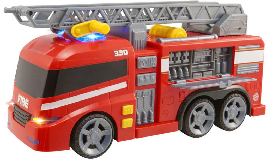 Teamsterz auto výjezdové požární vozidlo s žebříkem na baterie Světlo Zvuk