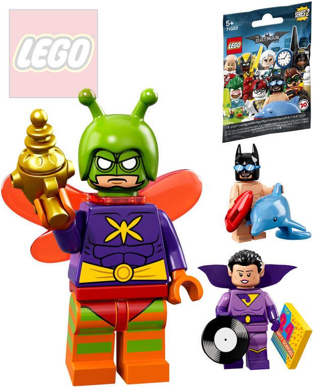 LEGO BATMAN Movie 2.serie mini figurka set s doplňky a podstavcem různé druhy