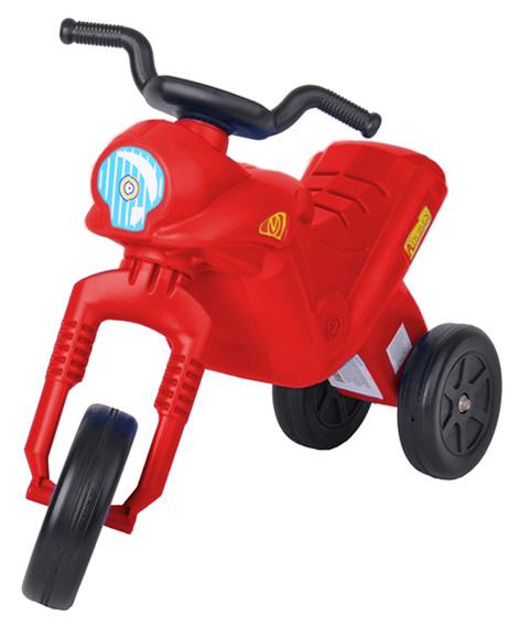 MAD Odrážedlo ENDURO Klasik dětské odstrkovadlo červená motorka do 25kg
